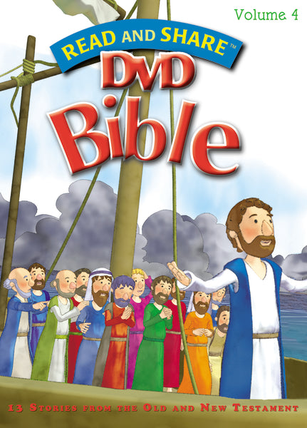Read and Share DVD Bible - Volume 4