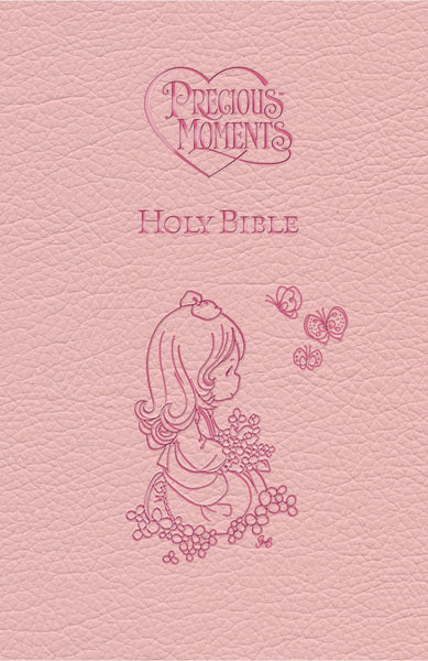 ICB, Precious Moments Holy Bible, Leathersoft, Pink