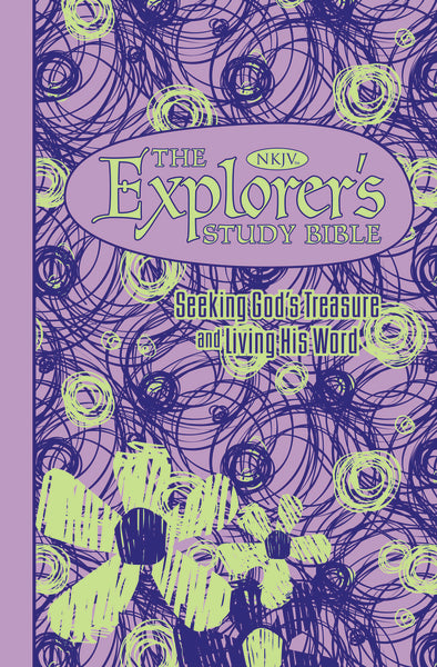 The NKJV, Explorer's Study Bible, Leathersoft, Purple