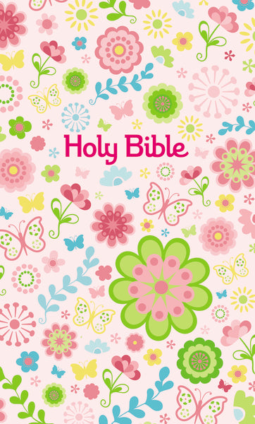 ICB, Sequin Bible Sparkles with Tote Bag, Hardcover, Pink