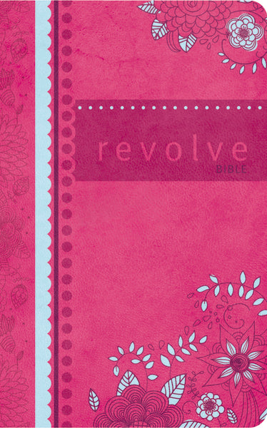 NCV, Revolve Bible, Leathersoft, Pink