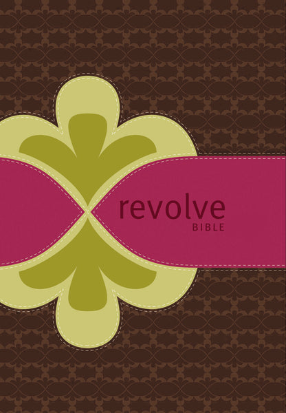 NCV, Revolve Bible, Leathersoft, Brown/Pink