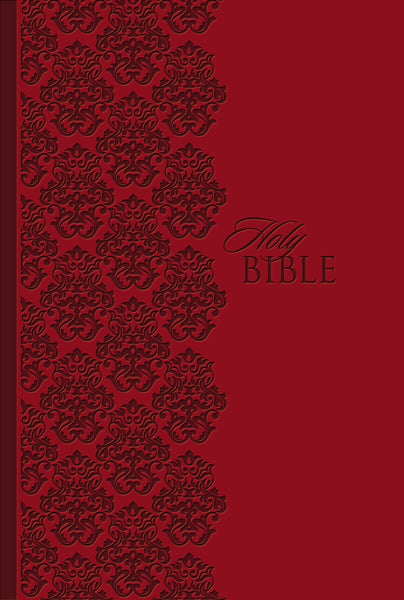 KJV Study Bible, Personal Size, Leathersoft, Red, Red Letter Edition
