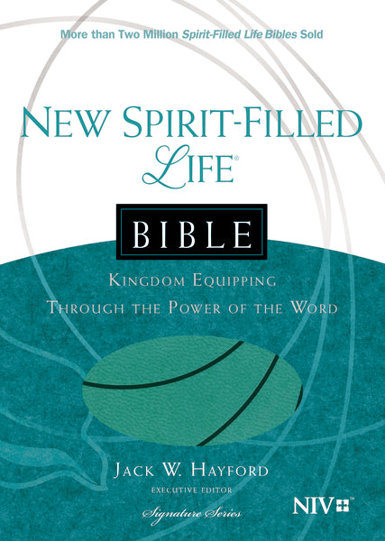 NIV, New Spirit-Filled Life Bible, Leathersoft, Turquoise