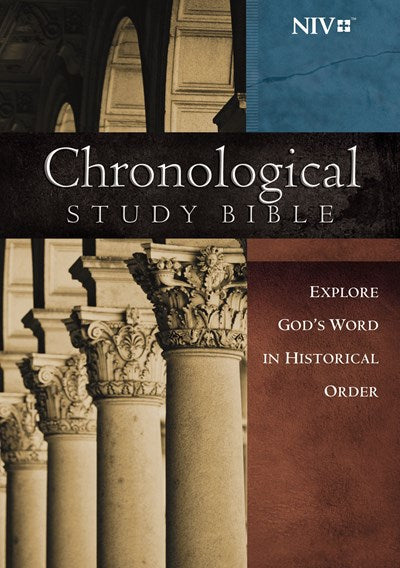 NIV, Chronological Study Bible, Hardcover