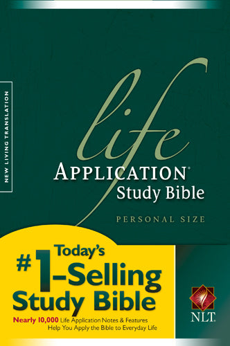 NLT Life Application Study Bible, Second Edition, Personal Size (Softcover)