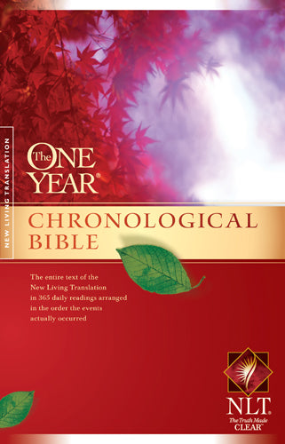 The One Year Chronological Bible NLT (Softcover)