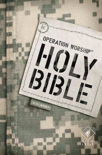 Operation Worship Compact Bible NLT, Army edition