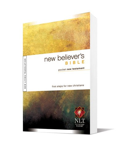 New Believer's Bible Pocket New Testament NLT (Softcover)