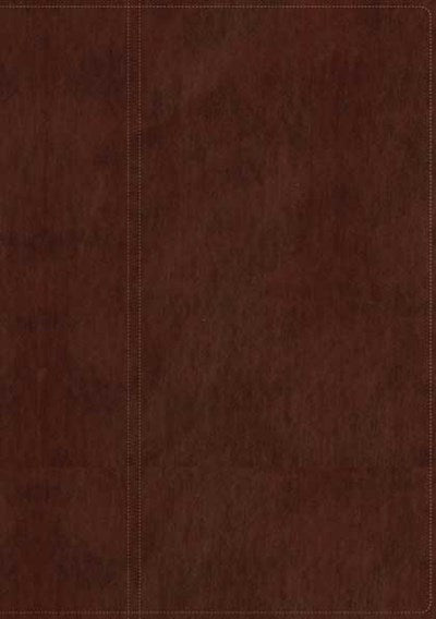 NLT Study Bible, TuTone (Red Letter, LeatherLike, Chocolate/Chocolate)
