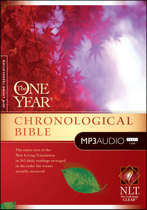 The One Year Chronological Bible NLT, MP3 (Audio CD)