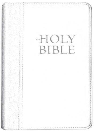 Compact Edition Bible NLT (LeatherLike, White)