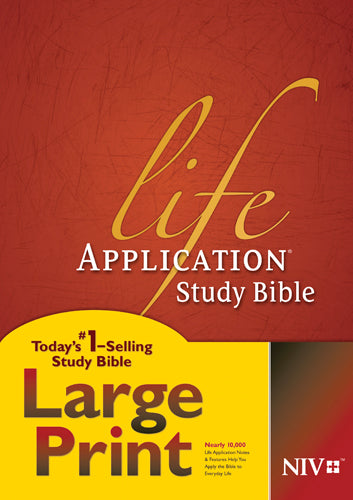 NIV Life Application Study Bible, Second Edition, Large Print (Red Letter, Hardcover)