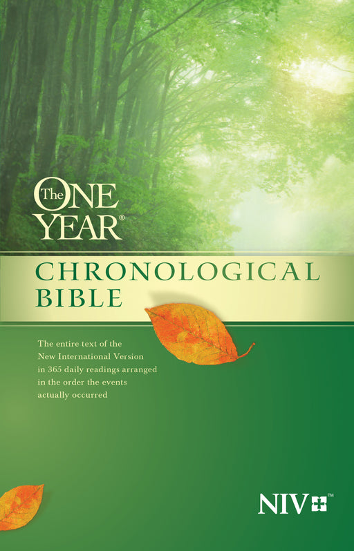 The One Year Chronological Bible NIV (Softcover)
