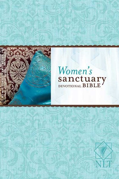 Women's Sanctuary Devotional Bible NLT (Hardcover)