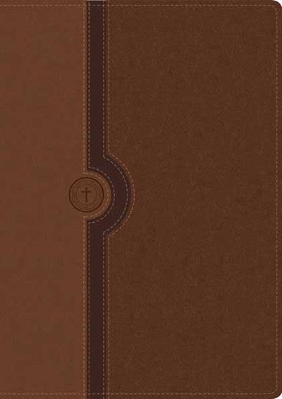 Beyond Suffering Bible NLT, TuTone (LeatherLike, Brown/Tan, Indexed)