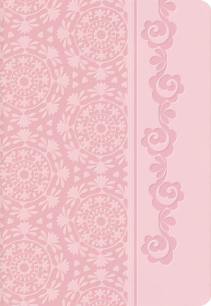 NKJV, Devotional Bible For Women, Leathersoft, Pink