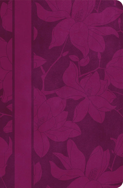 NKJV, The Woman's Study Bible, Leathersoft, Purple