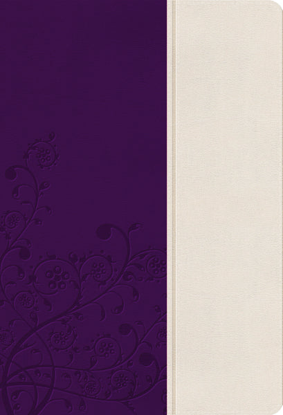KJV, The Woman's Study Bible, Leathersoft, Purple/Cream, Indexed