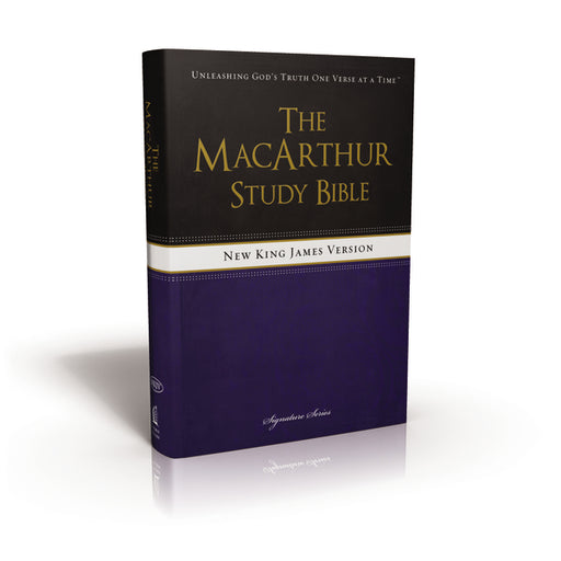 NKJV, The MacArthur Study Bible, Hardcover