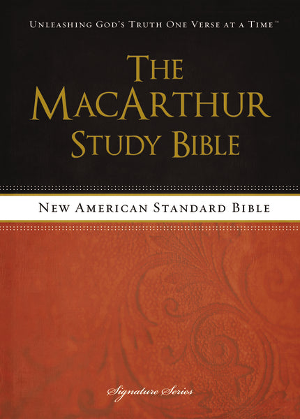 The NASB, MacArthur Study Bible, Hardcover