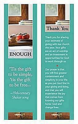 Enough Stewardship Program Bookmark (Pkg of 25)