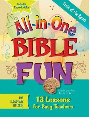 All-in-One Bible Fun for Elementary Children: Fruit of the Spirit