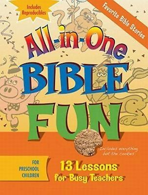 All-in-One Bible Fun for Preschool Children: Favorite Bible Stories