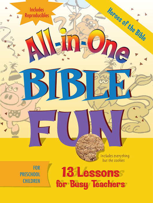 All-in-One Bible Fun for Preschool Children: Heroes of the Bible