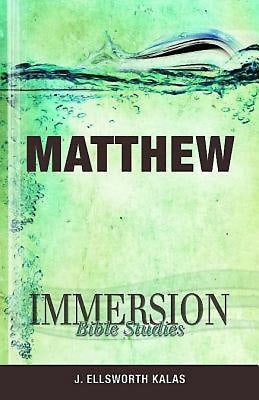 Immersion Bible Studies: Matthew