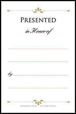 Presented in Honor of Bookplates (Pkg of 48)