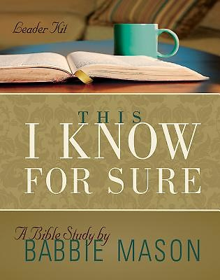This I Know For Sure - Women's Bible Study Leader Kit