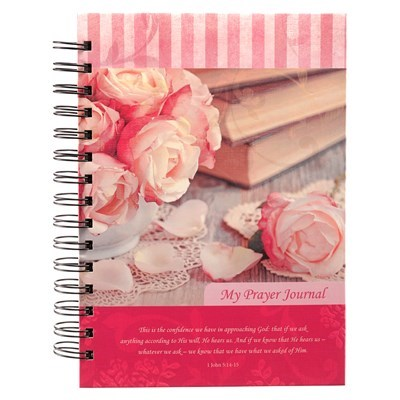 """My Prayer Journal"" Hardcover Wirebound Journal"