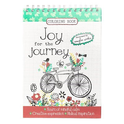 Joy for the Journey Wirebound Coloring Book