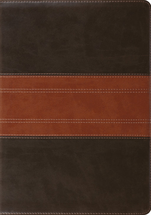 ESV Study Bible (TruTone, Forest/Tan, Trail Design)