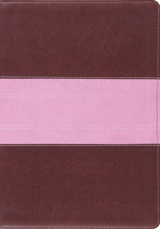 ESV Study Bible (TruTone, Chocolate/Rose, Trail Design)