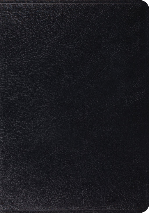ESV Study Bible (Black, Indexed)