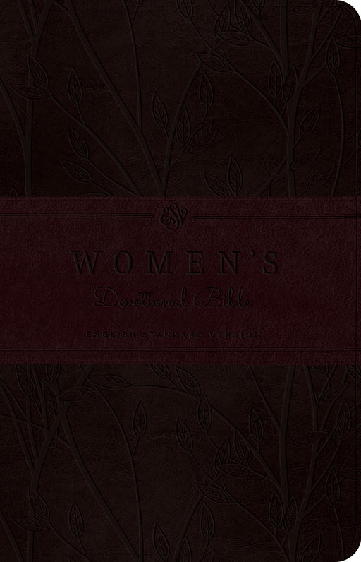 ESV Women's Devotional Bible (TruTone, Burgundy, Birch Design)