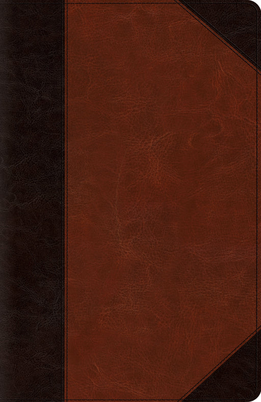 ESV Reference Bible (TruTone, Brown/Cordovan, Portfolio Design)