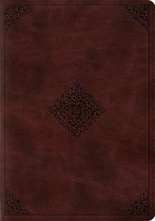 ESV Study Bible (TruTone, Mahogany, Ornament Design)