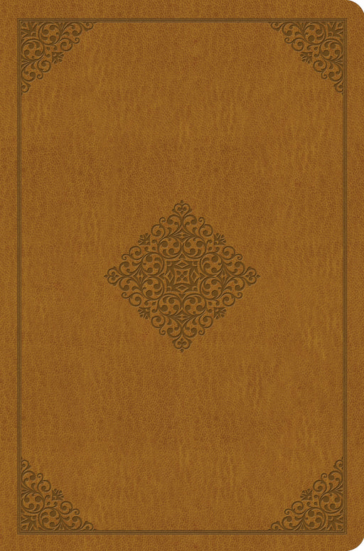 ESV Value Compact Bible (TruTone, Goldenrod, Ornament Design)