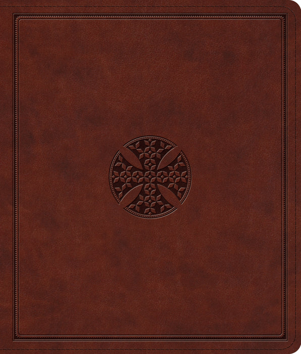 ESV Journaling Bible (TruTone, Brown, Mosaic Cross Design)