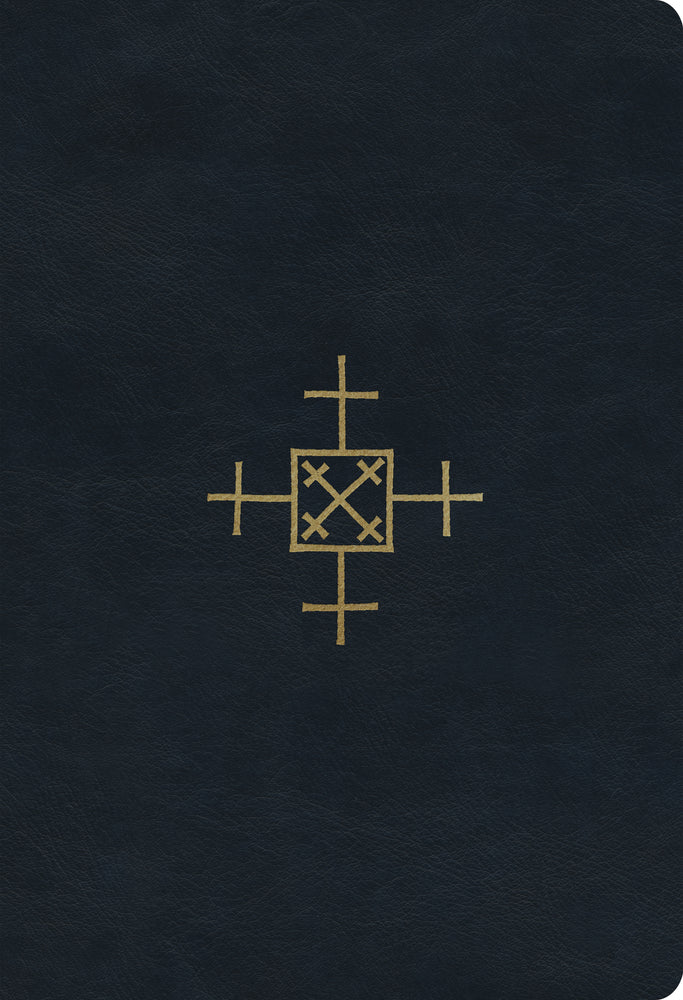 ESV Student Study Bible (TruTone, Navy, Cross of Christ Design)