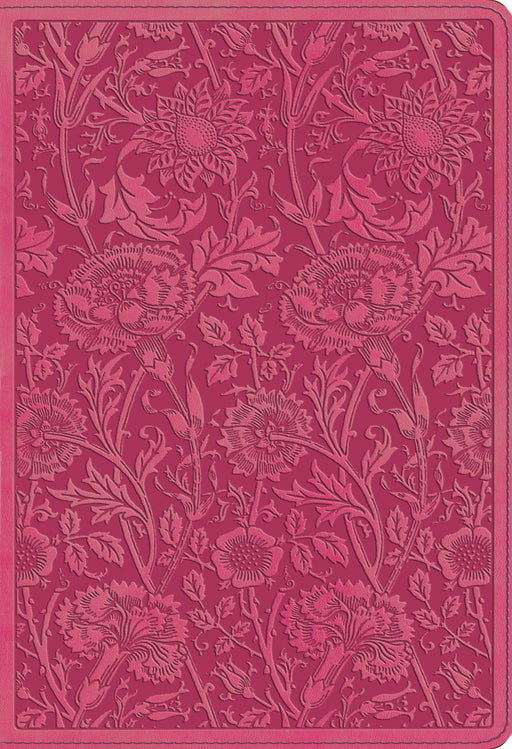 ESV Student Study Bible (TruTone, Berry, Floral Design)