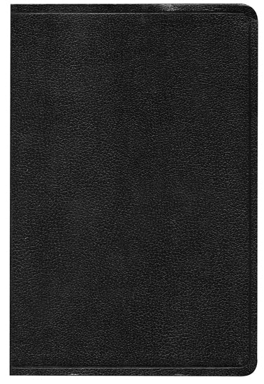 HCSB Hand Size Giant Print Reference Bible, Black Simulated Leather Indexed