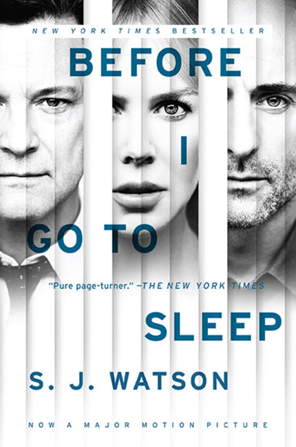 Before I Go To Sleep Movie Tie In
