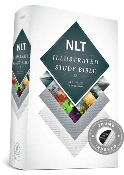 Illustrated Study Bible NLT (Hardcover, Indexed)