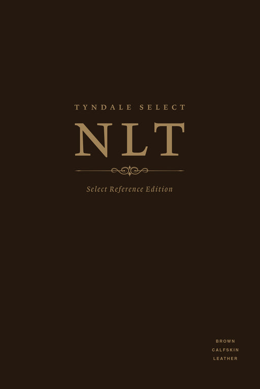 Tyndale Select NLT: Select Reference Edition (Calfskin Leather, Brown, Indexed)