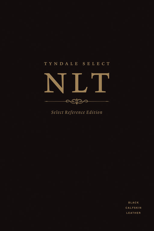 Tyndale Select NLT: Select Reference Edition (Calfskin Leather, Black, Indexed)