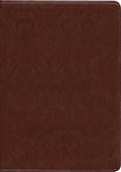 NLT Life Application Study Bible, Second Edition, Large Print (Red Letter, LeatherLike, Brown)